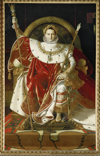 Jean-Auguste-Dominique Ingres, 'Napoleon on his imperial throne', 1806, Erich Lessing Culture and Fine Arts Archive