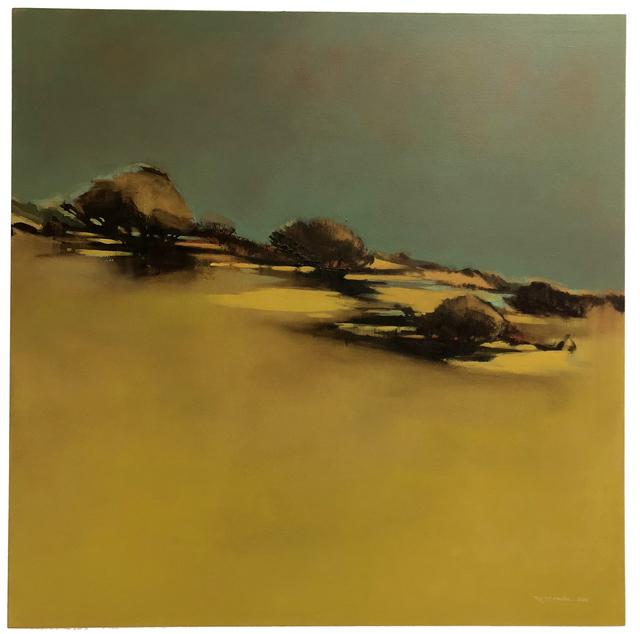 , 'Yellow Green Landscape,' 2014, DECORAZONgallery