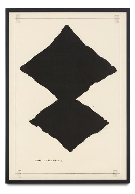 , 'Untitled (A Manta and Its Shadow),' 2016, STPI