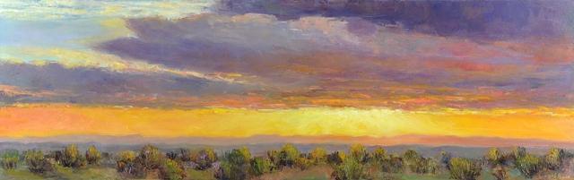 , 'Veiled Sunset,' 2018, Mark White Fine Art