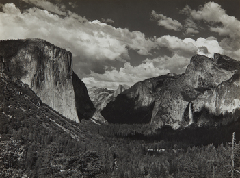 Ansel Adams, 'Yosemite Valley,' ca. 1935, Phillips: The Odyssey of Collecting