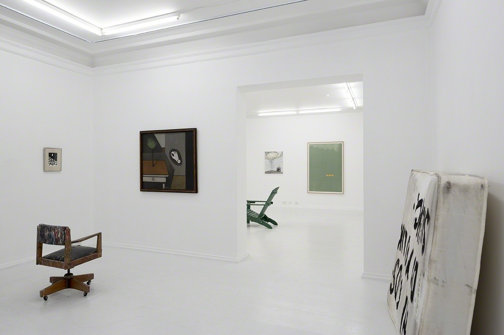 Installation view, Absence (Looking for Hammershøi)
