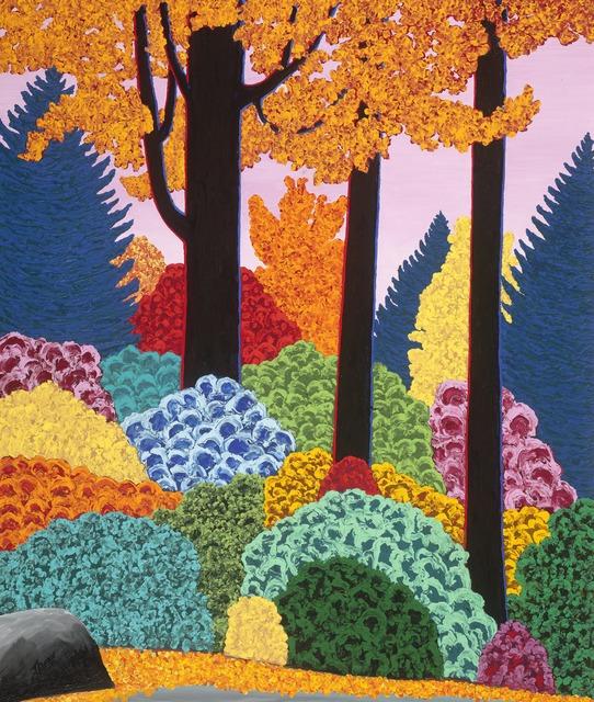 , 'Adirondack Trees,' 2012, ACA Galleries