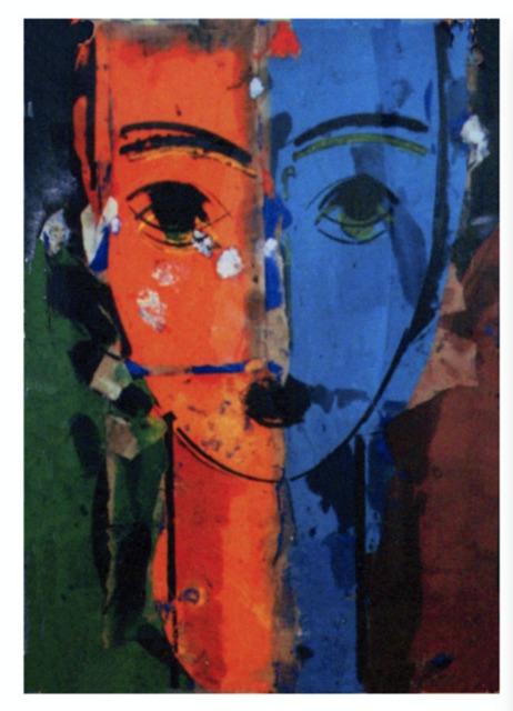 , 'Rostro II,' 2000, Galeria Freites