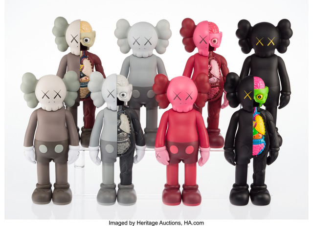 KAWS, 'Companion (Open Edition) (eight works)', 2016, Heritage Auctions