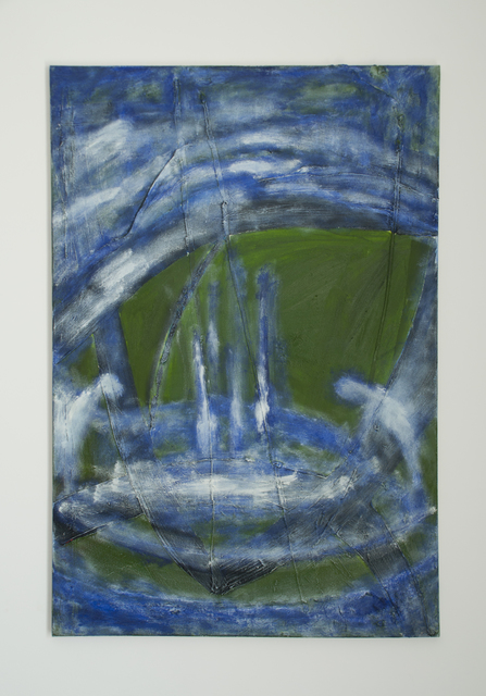 , 'Untitled (green, blue and white),' 2016, Dio Horia