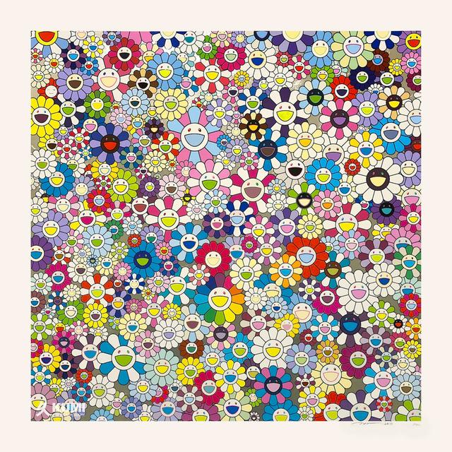 Takashi Murakami, 'Shangri-la Shangri-la Shangri-la Silkscreen', 2017, Print, Silkscreen, Kumi Contemporary / Verso Contemporary