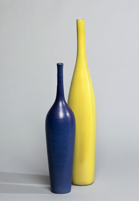 , 'Vase Bouteille Bleu,' ca. 1960, Lebreton