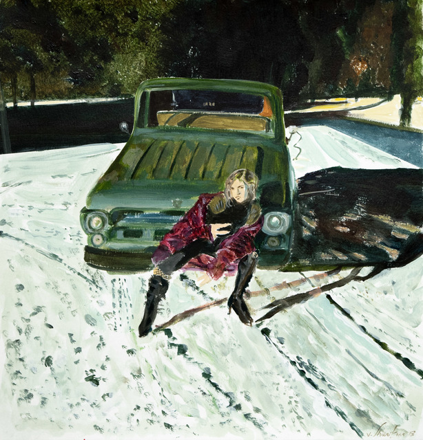 Vahid Sharifian, 'Night and Snow, the Old Friends', 2018, Haw Contemporary