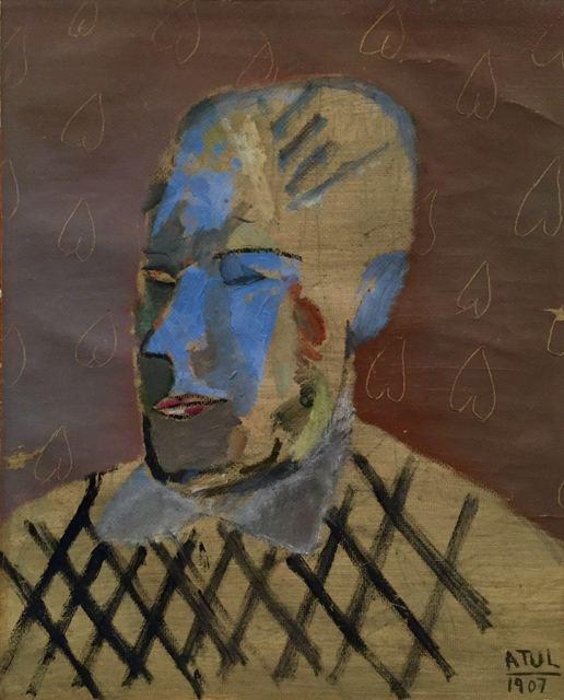 , 'Head of 1907,' 1988, AkaraArt