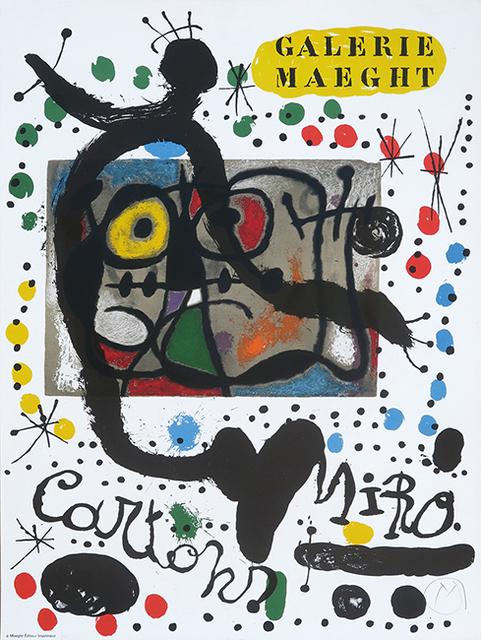 Joan Miró, 'Galerie Maeght Exhibition Poster', 1965, Hidden