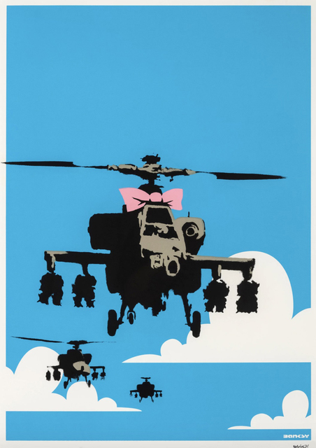 Banksy, 'Happy Choppers - Signed ', 2003, Hang-Up Gallery