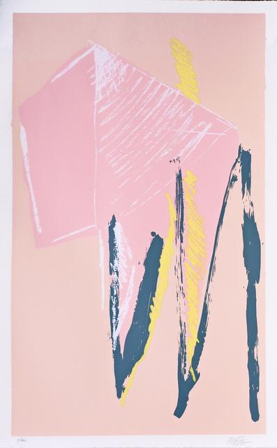 Michael Steiner (b. 1945), 'Bathers or Pink Silkscreen', 1980, Hans den Hollander Prints