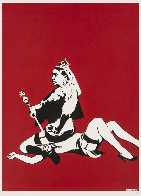 Banksy, 'Queen Vic', 2003, Forum Auctions