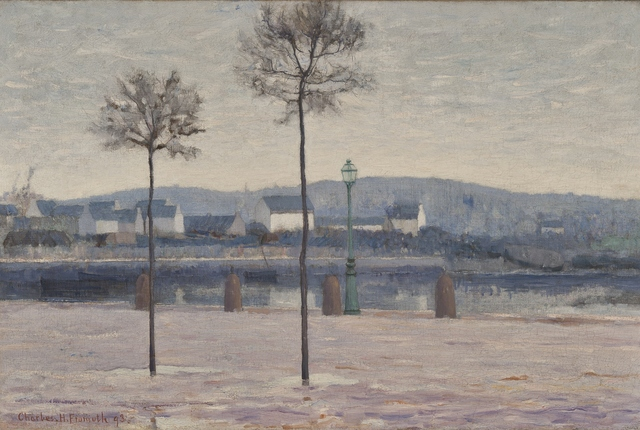 Charles Fromuth, 'Concarneau', 1893, Private Collection, NY