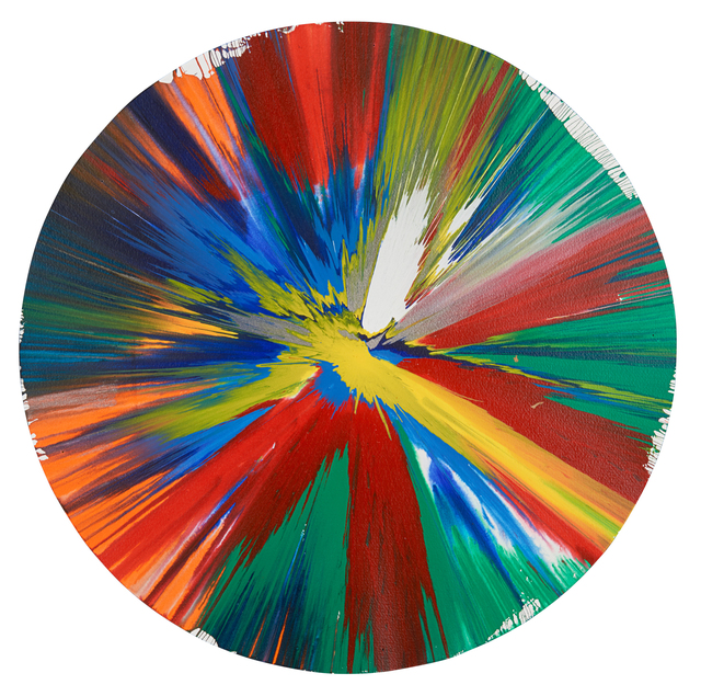 Damien Hirst, 'Circle Spin Painting (Created at Damien Hirst Spin Workshop)', 2009, Rago
