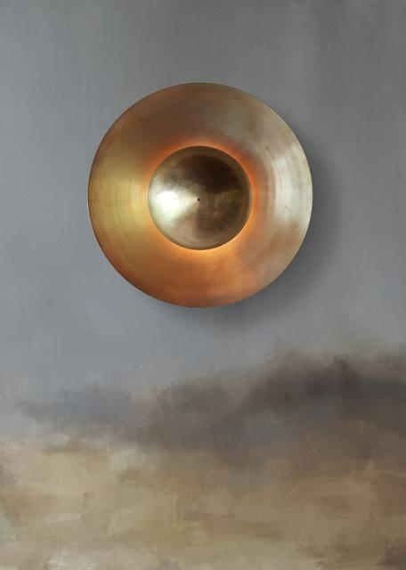 Jan Garncarek, 'Metropolis Sconce', 2017, Design/Decorative Art, Polished Brass, Galerie SORS