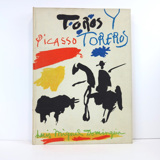 Pablo Picasso, 'Toros y Toreros', 1962, Other, Book with text by Luis Miguel Dominguin and a study by Georges Boudaille after the sketches made by Picasso in 1959, Cahiers d'Art