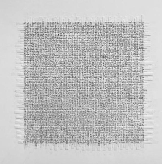 , 'transcriptions,' 2017, 1969 Gallery