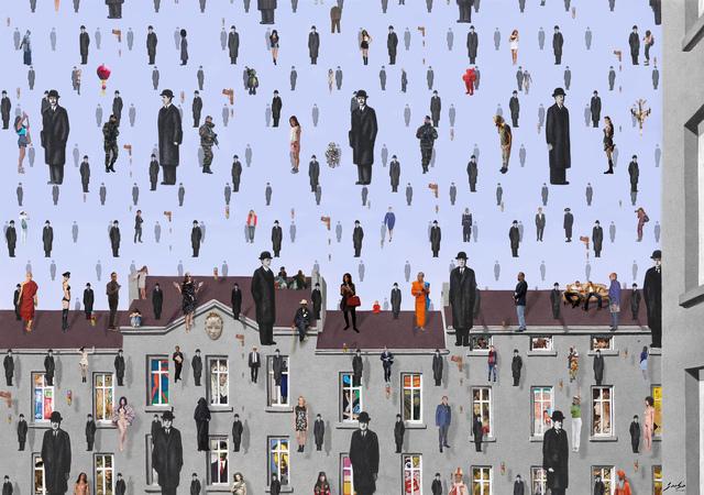 , 'Golconde. Maggrite,' 2017, Galeria Contrast