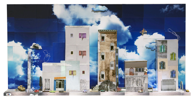 , 'Panorama from Qalandia,' 2013, Gallery One