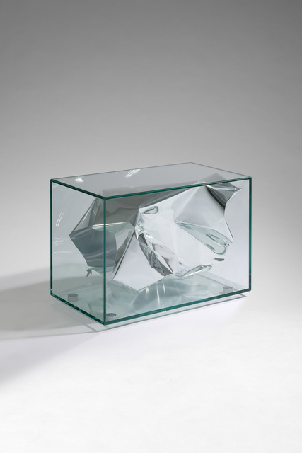 , 'Side Table' Silver Crush',' 2012, David Gill Gallery