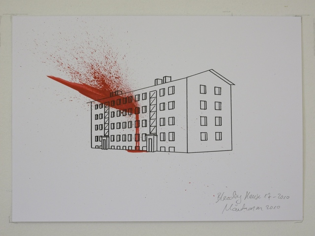 , 'Bleedin House 17-2010,' 2010, Temnikova & Kasela
