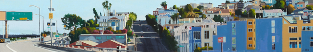 , 'Freeway Exit,' 2015, Paul Thiebaud Gallery