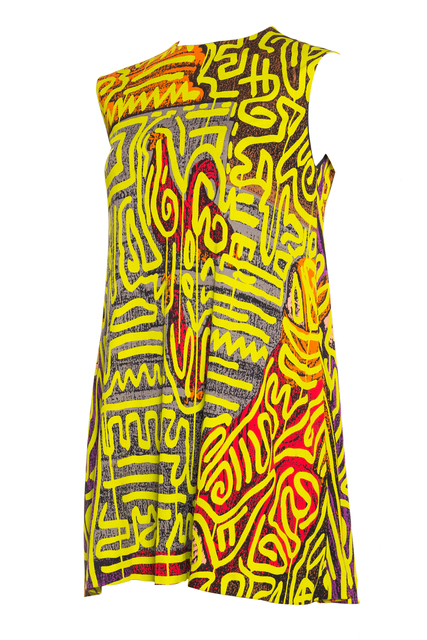 , 'Stephen Sprouse x Keith Haring Grafitti Cock Dress,' 1988, Morphew