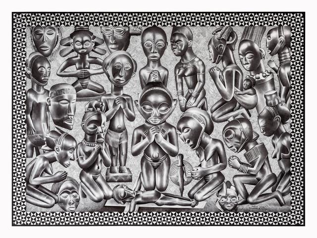 , 'Famille endeuillée et vengeance,' 2016, Africa Bomoko