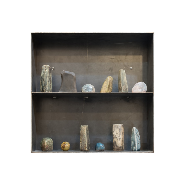 , 'Caja # 4R Servicio Geológico Ápex,' 2018, Salón Comunal