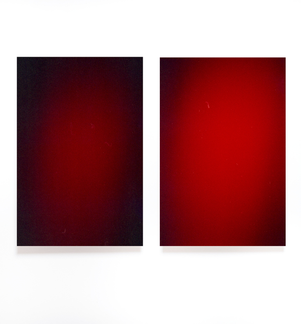 """, 'Untitled (Diptych), from the series """"Light Surface"""",' 2017, Artig Gallery"""
