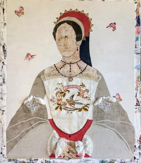 , 'Queen Maria,' 2017, Rebecca Hossack Art Gallery