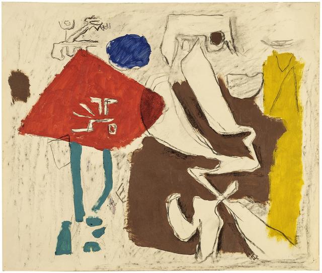 """, 'Skizze nach """"Freundliches Phantom"""",' 1952, Jahn und Jahn"""