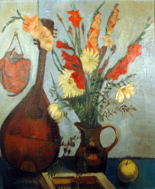 Isaac Soyer, 'Mandolin & Vase', 1902-1981, ACA Galleries