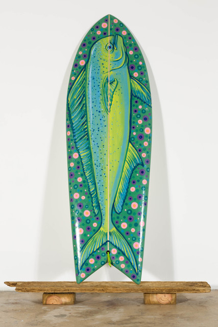 , 'Little Haiti Fish (5.6, twin fin),' 2016, Nina Johnson