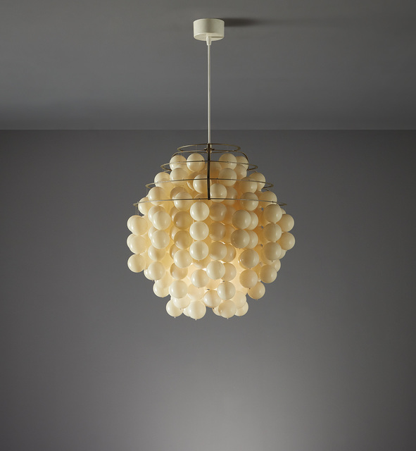"Verner Panton, '""Ball"" ceiling light, model no. Typ H', circa 1970, Phillips"