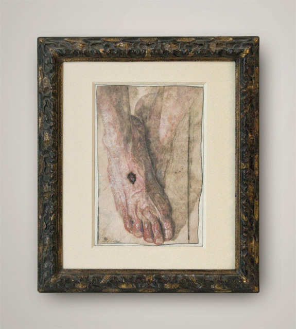 , 'FOOT OF CHRIST,' , Anima-Mundi