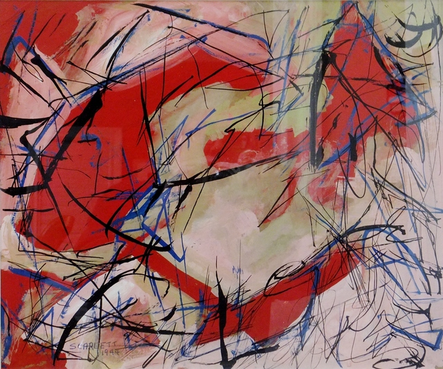 , 'Untitled Abstraction,' 1944, Lawrence Fine Art