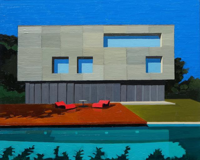 , 'Concrete House,' 2016, Cynthia Corbett Gallery