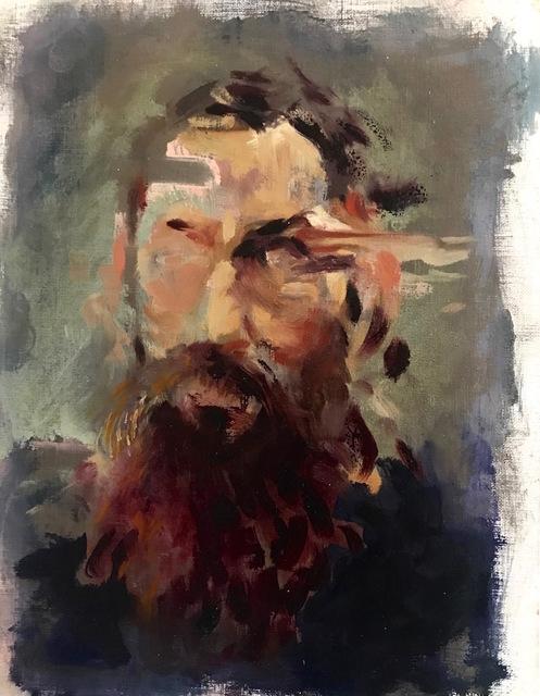 """, '""""SelfPortrait as Work in Progress, Rodin"""",' 2017, Novado Gallery"""