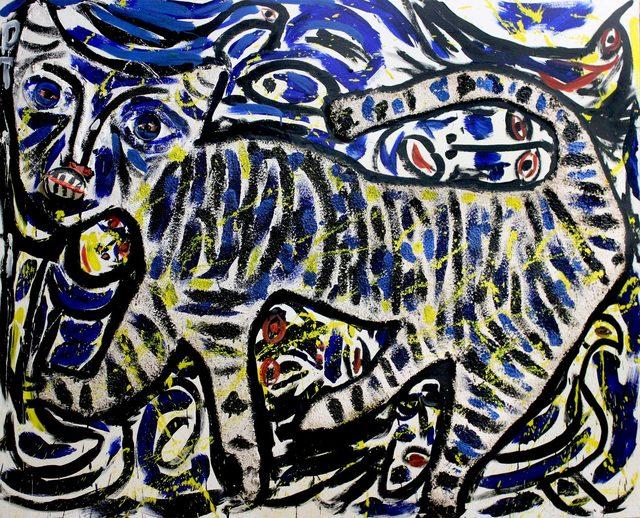 , 'Lady In The Tiger's Tale,' 1990, Bill Lowe Gallery