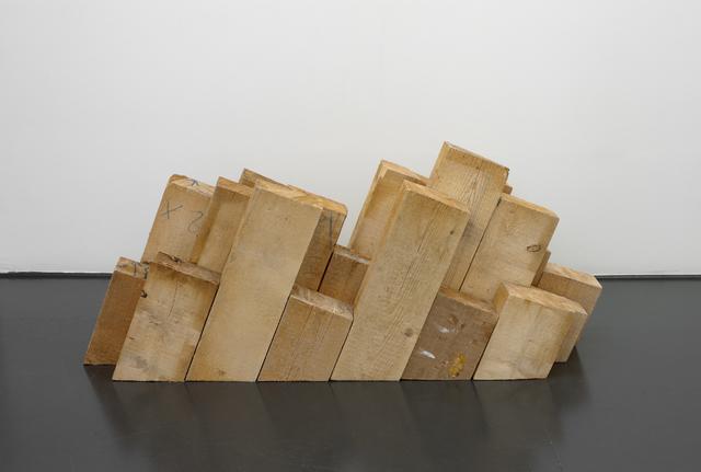 , 'Stère,' 2016, Galerie Laurence Bernard