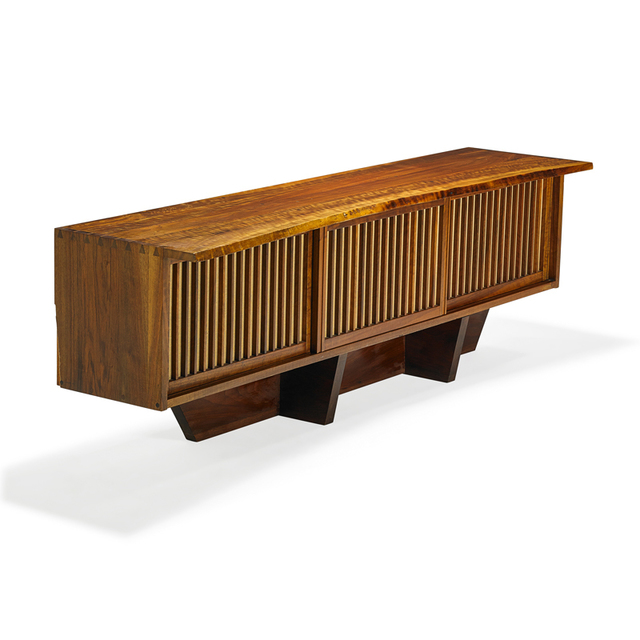 George Nakashima, 'Special Wall Case, New Hope, PA', 1969, Rago