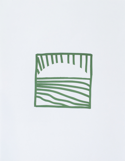 , 'Cutout Drawing 7 ,' 2019, Reynolds Gallery