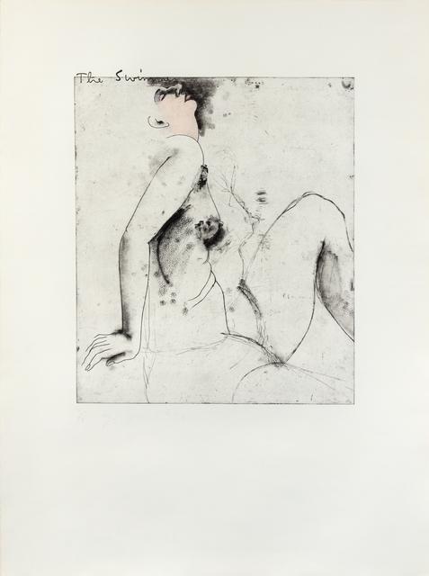 Jim Dine, 'The Swimmer', 1976, Hindman