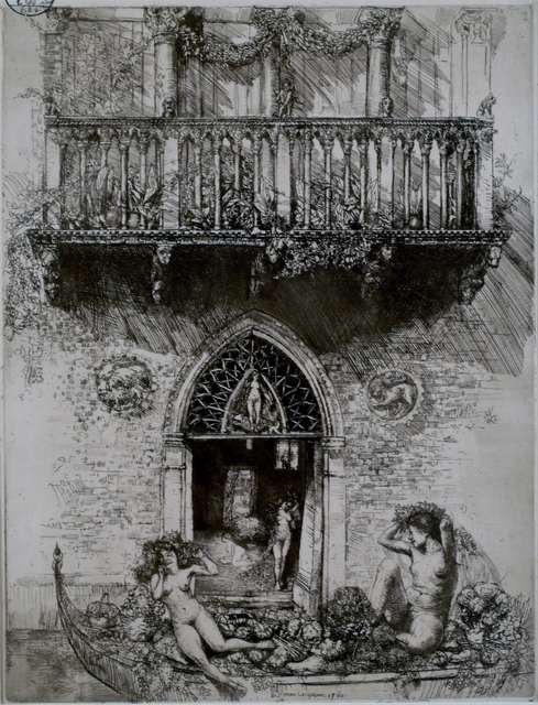 Donald Shaw MacLaughlan, 'House of Ceres, Venice', 1910, Private Collection, NY