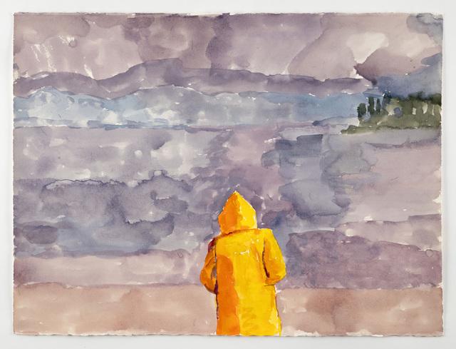 , 'Yellow Jacket: Fog,' 2017, Betty Cuningham