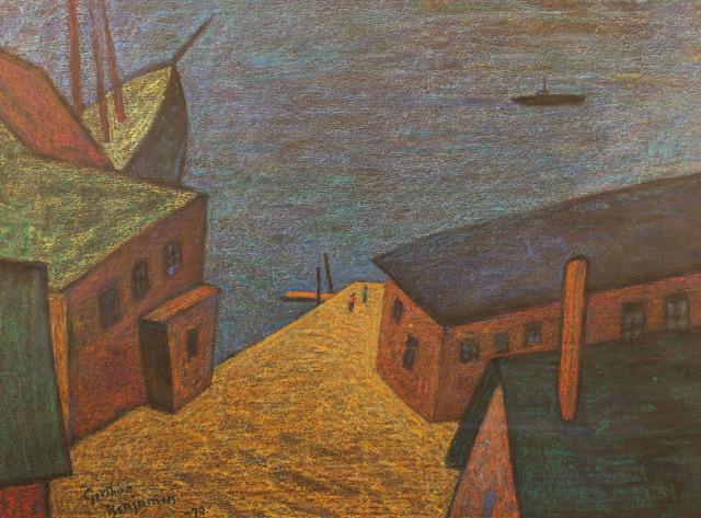 , 'Gloucester Pier,' 1970, Gerald Peters Gallery