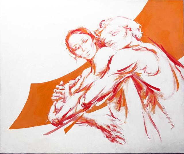 , 'Lovers II,' 1977, Machamux